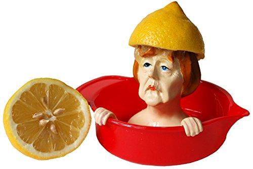 Angela Merkel Zitronenpresse