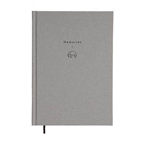 The School of Life - Schrijven als Therapy Journal: Memories - Een Linen-Bound Notebook Ontworpen om tegemoet te komen aan de therapeutische activiteit van uw gedachten