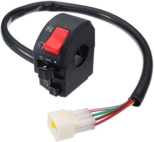 Interruptor de la motocicleta 12 V 7/8 'luz de señal cuerno derecho motocicleta manillar interruptor de giro JoinBuy.R
