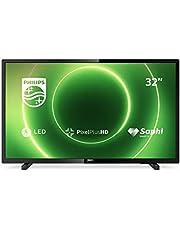 "Philips 32PHS6605/12 6600 Seria Telewizor LED Smart HD, 32"", Czarny"