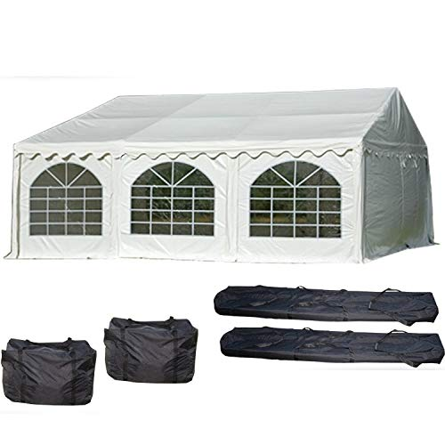 Our #4 Pick is the Delta Canopies PVC Party Tent Carport Cover