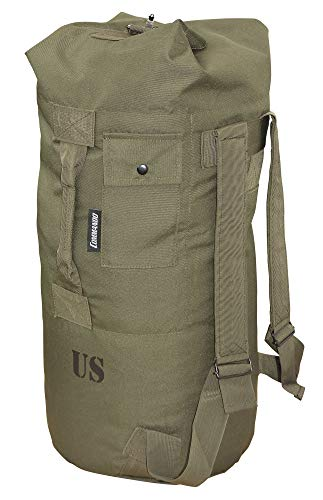 Commando Industries Bolsa X-lite del ejército estadounidense, 80 cm x 50 cm, bolsa para la colada, varios modelos, verde oliva, 80cm x 50cm