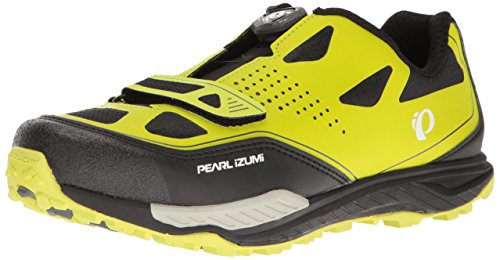 Pearl Izumi Pi M Alplaunchii, Zapatillas de Ciclismo de Carretera Hombre, Verde (Lima/Negro), 43 EU