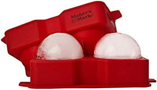 Maker's Mark Ice Ball Silicone Rubber Tray