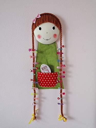 Lotta Aufbewahrung Haarspangen Puppe Geschenk Ostern Mädchen