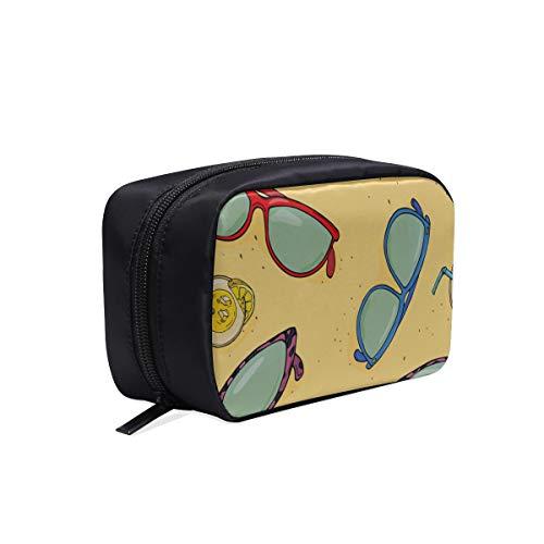 Bolsa de cosméticos para hombres Artículo de moda Elemento de tendencia Gafas de sol Artículos de baño colgantes Bolsa de viaje Bolsas de cosméticos de colores Bolsa de artículos de tocador para muj