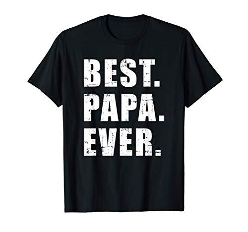 Mens Best papa ever for grandpa T-Sh