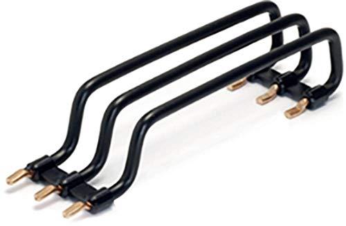 FTG Reihenverdrahtung 3-polig, schwarz, 3 x 10mm² 125mm