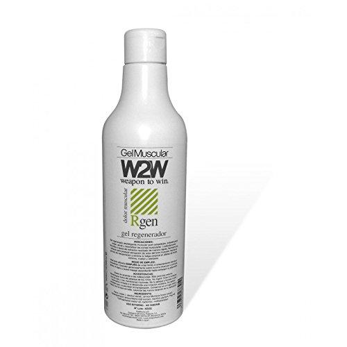 W2W Gel Regenerador Muscular Desfatigante - 500 ml