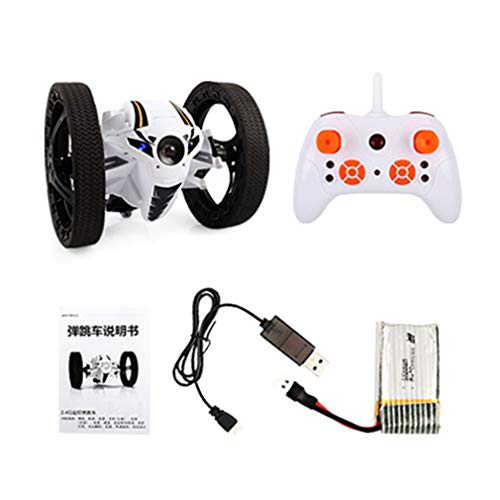 Mini Drone Jumping RC Car Bounce Car Robot Toy Met Afstandsbediening Wit