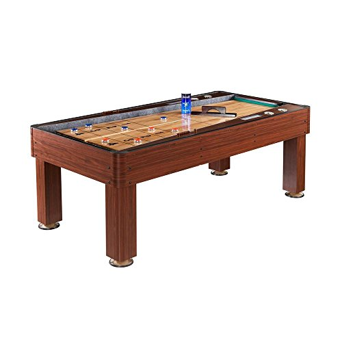 Best Buy! Carmelli BlueWave SHUFFLEBOARDS NG1201 Ricochet 7 Ft. Bounce-Back Shuffleboard Table