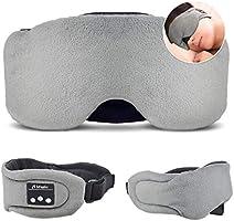 HEYMIX Bluetooth Sleeping Eye Mask Headphones,5.0 Wireless Bluetooth Headset Music Travel Sleep Headset Built-in...
