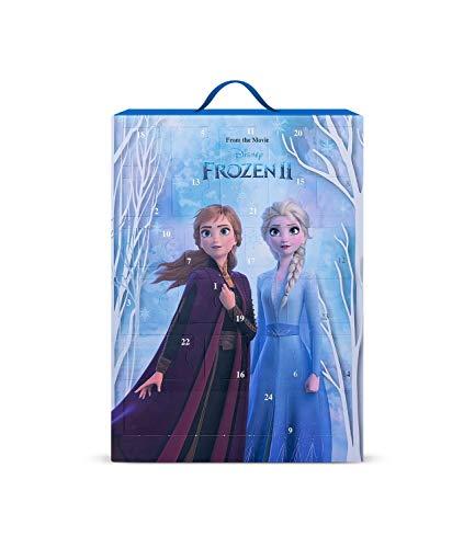 SIX Frozen II Adventskalender für Kinder mit hübschen Schmuckstücken und Accessoires zum Aufhängen oder Hinstellen mit Eiskönigin ELSA und Anna Motiv (371-057)