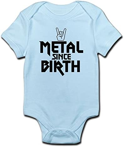 EGDKids Fueled by Heavy Metal /& Breast Milk Quote Baby Bodysuit White R96