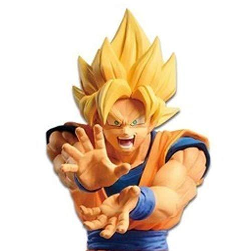 Banpresto - Figura de Acción Dragon Ball Z The Android Battle Super Saiyan Son Goku Figura (Bandai 82733)