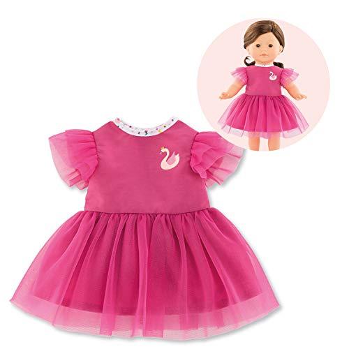 Corolle- Robe Cygnes de Tendresse pour poupée Vêtement, 211300, Rose