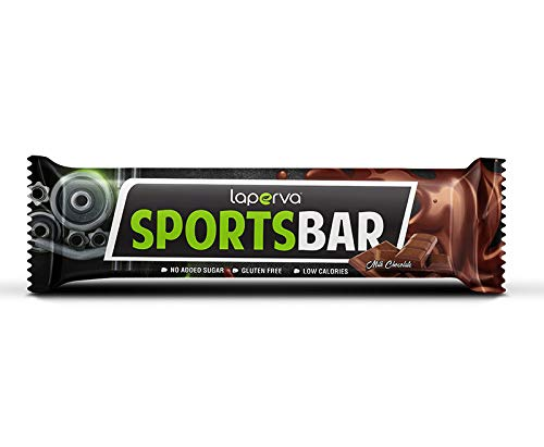 Laperva healthy diet sport bar pure whey protein bar for diet and keto diet 9pcs 42g bar per box - pack of 1 (DARK CHOCOLATE)