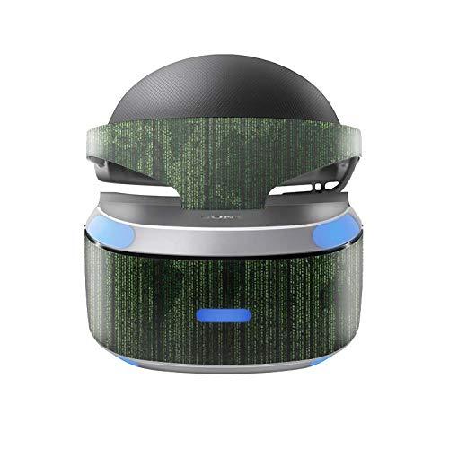 Skins4u Aufkleber Design Schutzfolie Vinyl Skin kompatibel mit Sony PS4 Playstation 4 VR Brille Matrix