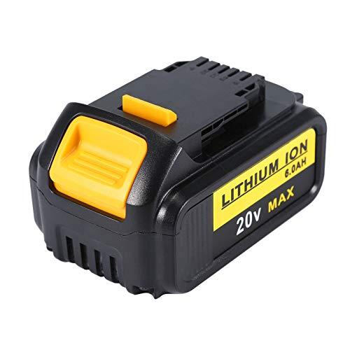 NextCell Li-Ion 6.0Ah 20 volt 20V battery for Dewalt DCF880 DCF880M2 DCF880C1-JP DCF883B DCF883L2 DCF883B DCF885 DCF885B DCF885C2 DCF885L2 DCF885L2 DCF885N DCF886 DCF895B DCF895C2 DCF895L2 DCF895L2