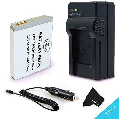 NB-6L / NB6L Battery + Battery C...