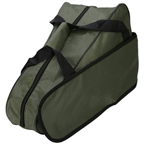 Manyo - Bolsa de transporte impermeable portátil para motosierra, bolsa de transporte Oxford, soporte bolsa de almacenamiento para motosierra de 20 y 22 pulgadas, color verde militar