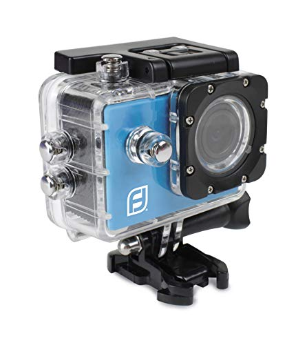 pas cher un bon Caméra de sport Funbee Full HD 1080P – Boîtier étanche de 30 m – Accessoires inclus – Écran LCD -…