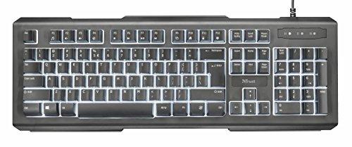 trust lito beleuchtete tastatur multimedia