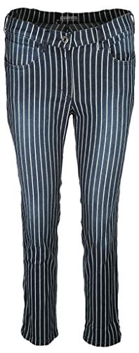 Zerres Damen Jeans Carla Größe 42 EU Blau (blau)