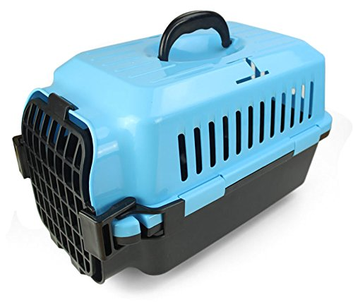 CPZLL Boîte à air livraison boîte chats et les chiens se peloter pochette avion cages cages chat camps d'animal familier , blue