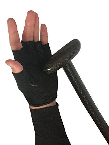 no dejes que tu pala se deslice en el agua o pierda su agarre cuando remas La palma de nuestros guantes es super antideslizante y está hecha de silicona resistente. Protege sus manos de ampollas y callos. Estos guantes son unisex y no frenan tu destr...