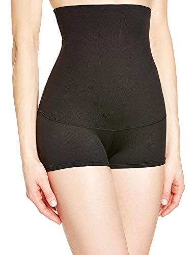Maidenform Women's Minimizing Hi-Waist Fajas Shapewear, Black, Small