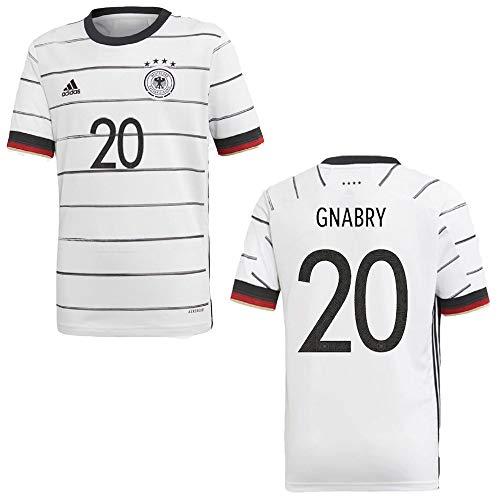 Sportiger DFB Deutschland Trikot Home Kinder Euro 2020 - GNABRY 20, Größe:152