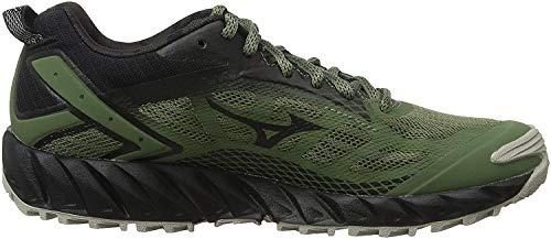 Mizuno Wave Ibuki 2, Zapatillas de Trail Running para Mujer, Negro, 39 EU