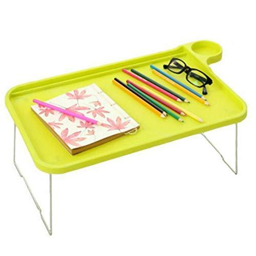 JONJUMP Mesa de picnic para ordenador portátil, escritorio, sofá, cama, bandeja con patas plegables, bandeja para desayuno, para comer y estudiar