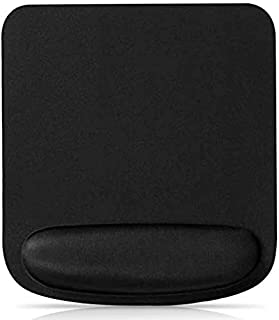 Mouse Pad, Ergonomic Mouse Pad Gaming Mouse Pad, Gel Computer Mouse Pad with Wrist Support Rest, Non-Slip PU Base for Comp...