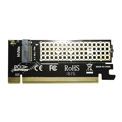 glotrends PA05 NVMe Adapter PCIE M.2 Adapter für Key-M PCIE M.2 SSD