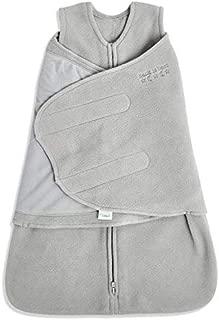 HALO Sleepsack Swaddle, M-Fleece, Gray, Newborn
