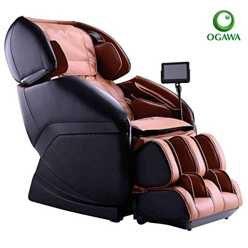Ogawa Active L Massage Chair - Black & Cappuccino