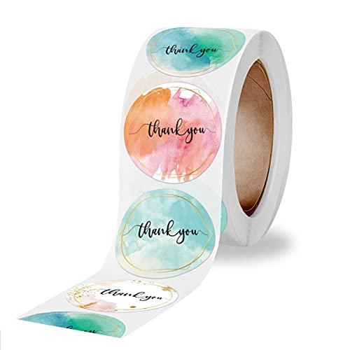 Etiqueta engomada del rollo redondo del lacre de la etiqueta engomada de la etiqueta engomada de la decoración del regalo