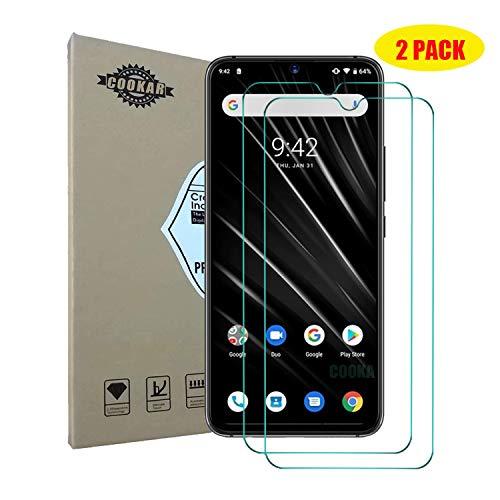 cookaR Coque UMIDIGIS3Pro, Housse en Cuir Premium Flip Case Portefeuille Etui pour UMIDIGIS3Pro Smartphone -Blanc