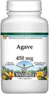 Agave - 450 mg (100 Capsules, ZIN: 518886)