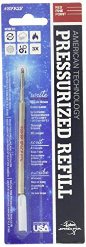 Fisher Space Pen Red Fine Point Pressurized Refill (SPR2F)