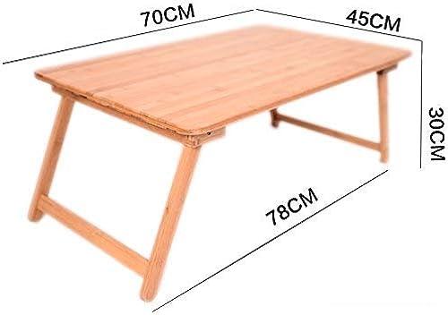 BJYG Mesa para el hogar Lazy Table Desk Mesas portátiles Plegables Pequeña Mesa de Comedor Sala de Aprendizaje de la Sala de Estar (Tamaño  F)
