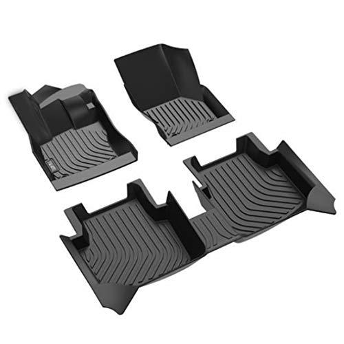 MNBX Alfombrillas de Coche 3D para Chevrolet Nuevo Cruze 2015-2020 All Weather Revestimientos de Suelo a Medida Alfombra de Cubierta Completa Personalizada Impermeable Antideslizante Inodoro Goma
