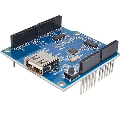 HiLetgo USB Host Shield for Arduino UNO MEGA 2560 Support Google Android ADK USB HUB