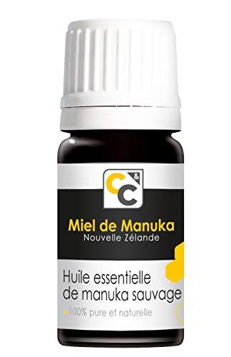 COMPTOIRS ET COMPAGNIES Huile Essentielle De Manuka Sauvage, Leptospermum Scoparium, 5 ml