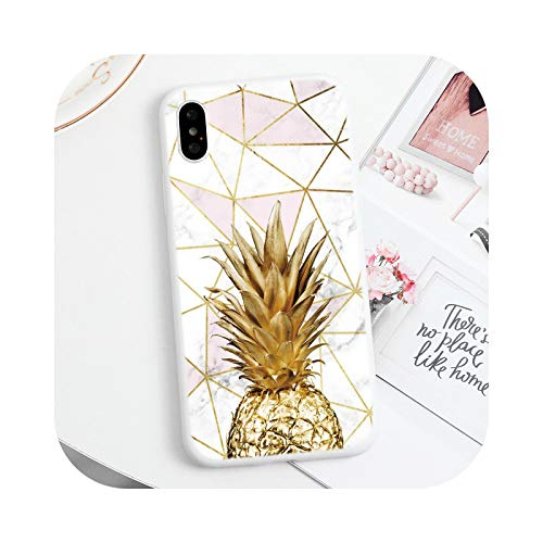 Carcasa para iPhone 12, diseño de flor de mármol para iPhone 12 Mini 11 Pro X XR XS Max TPU flexible para iPhone 7 8 6s 6 Plus 5 5S se 2-dlsjinbl-for iPhone 12 6.1