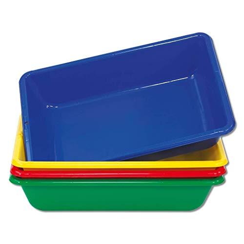 Wiemann Lehrmittel Sand-Wasser-Matschwanne, farblich Sortiert, 1 Stück
