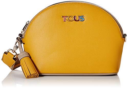 Tous New Essence, Bolso bandolera para Mujer, Multicolor (Mostaza Topo 995900793), 28x19x10 cm (W x H x L)