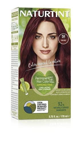 Naturtint 135ml cheveux colorant rouge feu